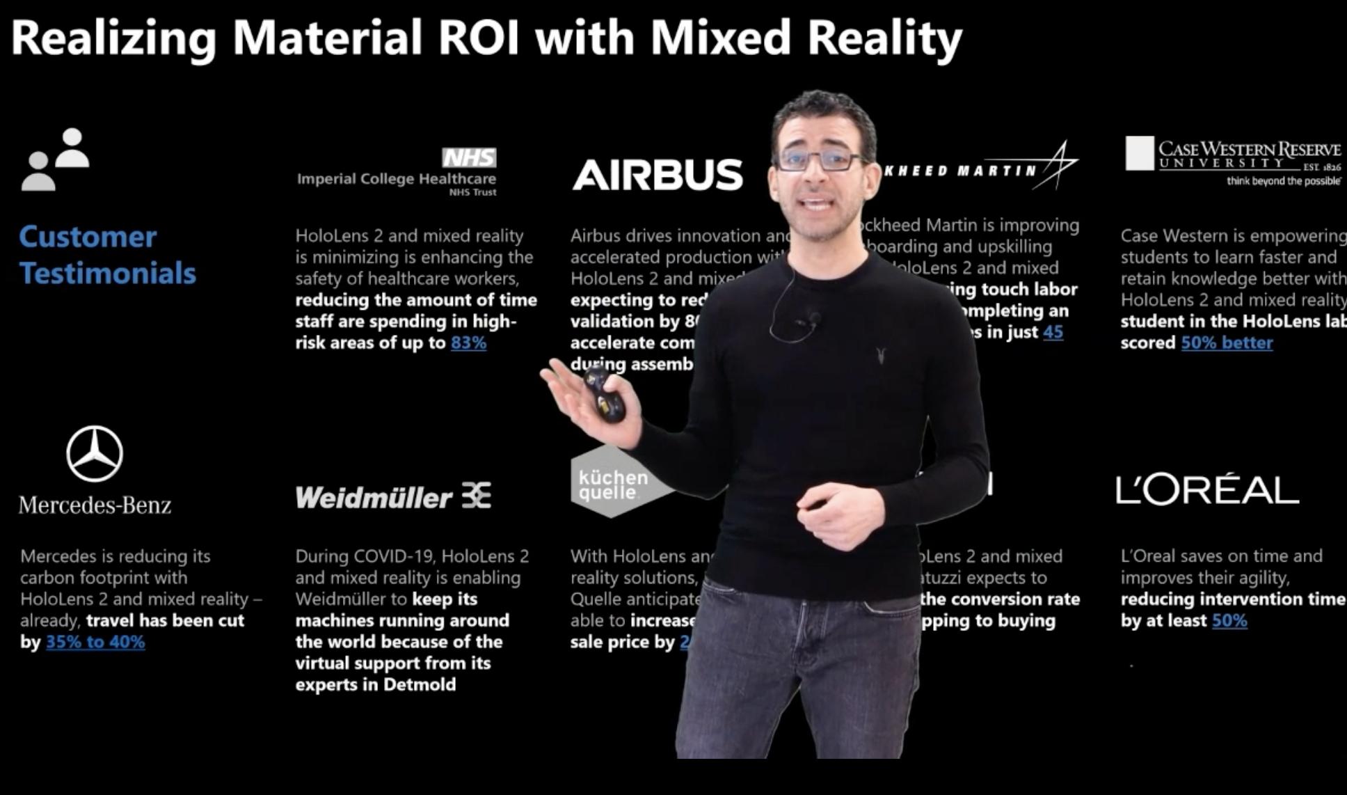 Mixed Reality ROI