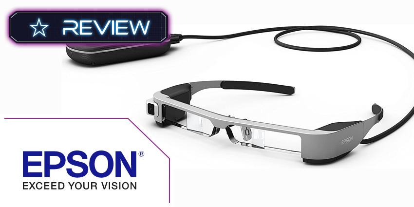 Epson Moverio BT-300 AR Smart Glasses Review