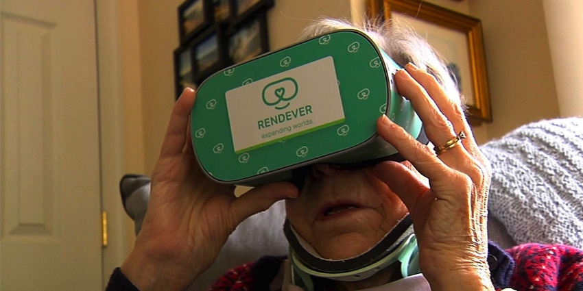 Rendever VR Therapy Helps Seniors Stay Healthy