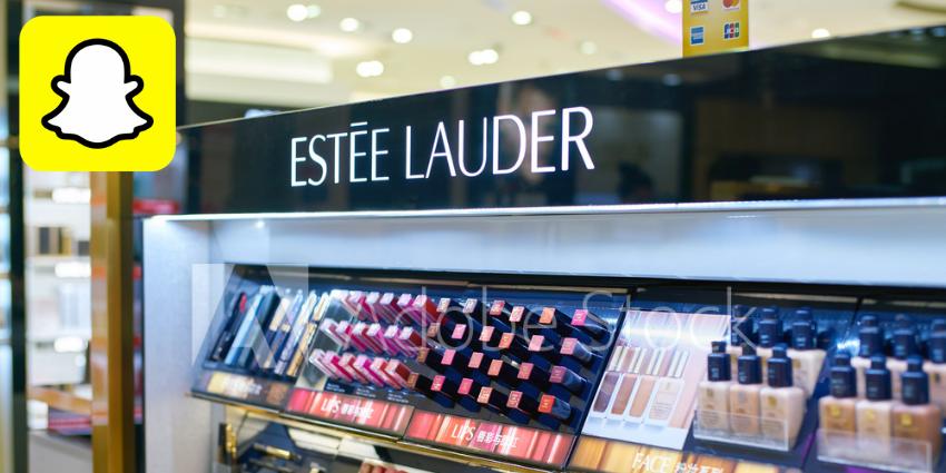 Estée Lauder Launches Snapchat AR Makeup Try-On