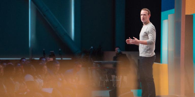 CEO Mark Zuckerberg at Facebook Communities Summit 2019