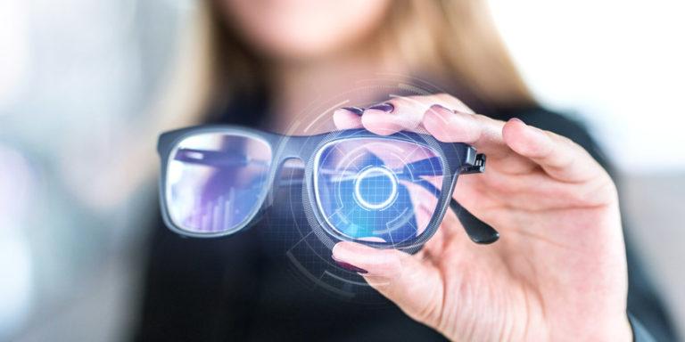 Smart Glasses Woman