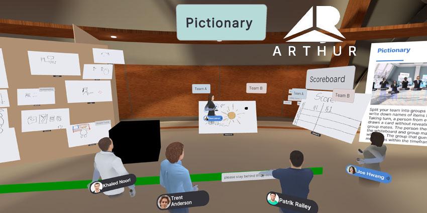 Hello, Arthur! VR Enterprise Platform Launches Stable Version