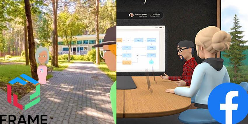 Facebook Horizon Workrooms vs FRAME by Virbela