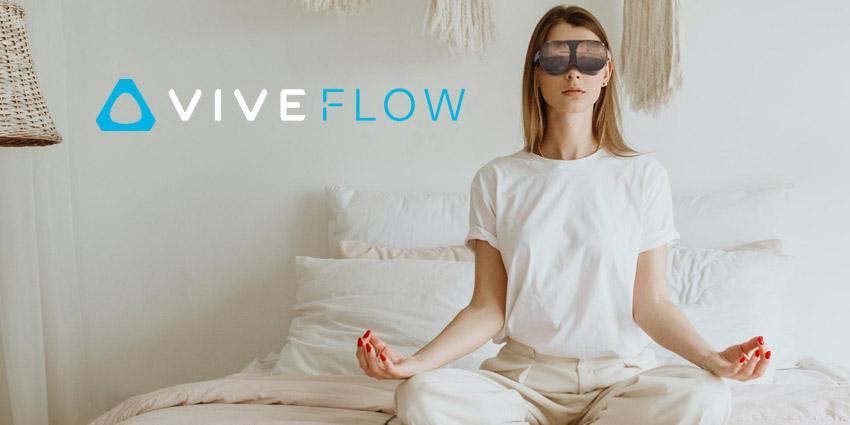 HTC Unveils VIVE Flow Immersive Smart Glasses